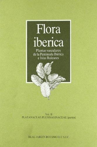 libro flora ibérica. vol. ii. platanaceae-plumbaginaceae (pa