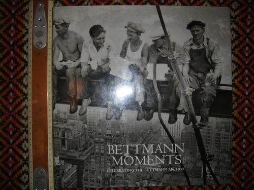 libro fotografías bettmann moments