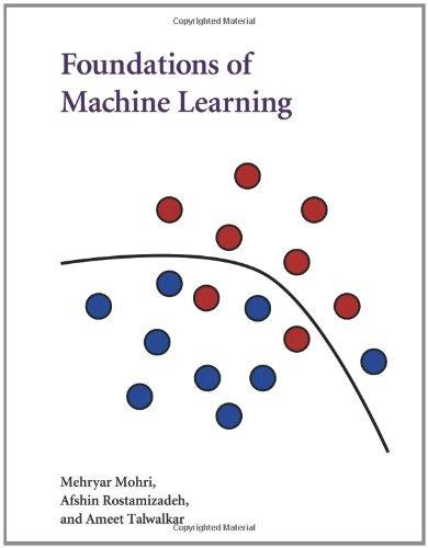 libro foundations of machine learning - nuevo