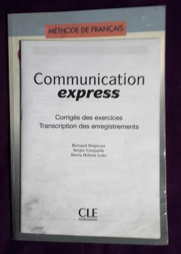 libro francés communication express para principiantes