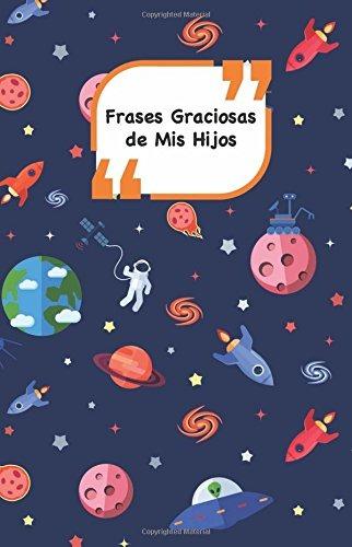 Libro Frases Graciosas De Mis Hijos Portada Con Espacio