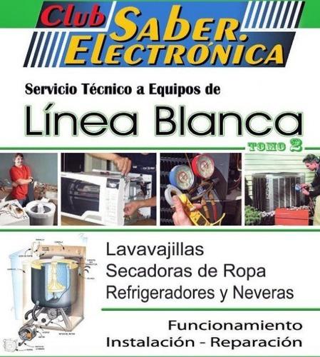 libro funcionamiento instalación reparación linea blanca