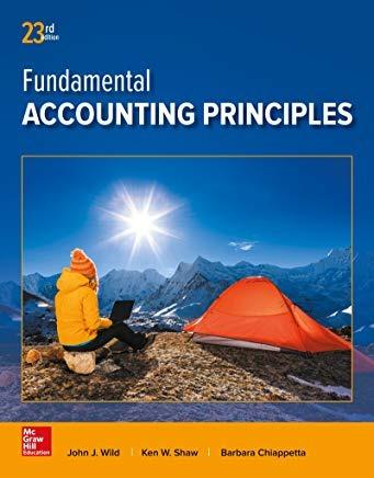 Fundamental Accounting Prin
