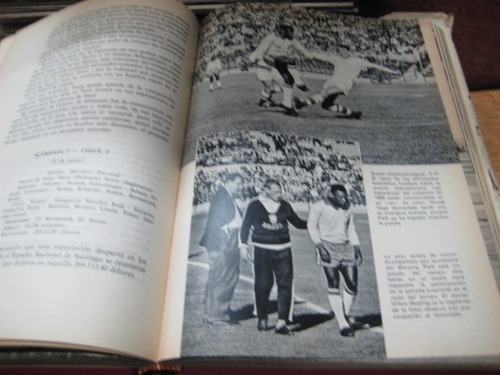 libro - futbol - mundial fifa chile 1962 - completo