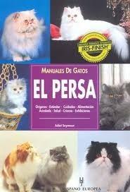 libro gato persa editorial hispano europea