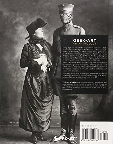 libro geek-art: an anthology: art, design, illustration & po