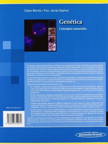 libro genética: conceptos esenciales - nuevo