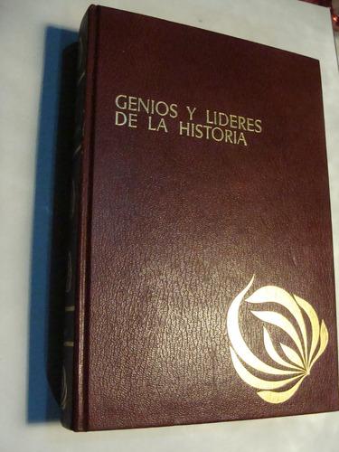 libro genios y lideres de la historia  , 472 paginas   , año
