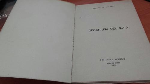 libro  geografía del mito  esmeralda radaelli