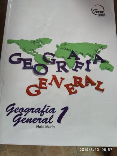 libro geografía general. 1er año