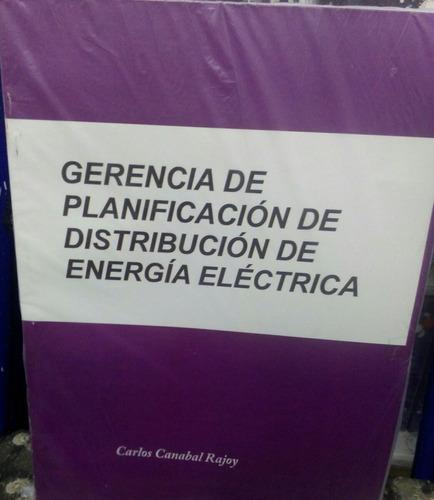 libro gerencia de distribucion electrica electricidad