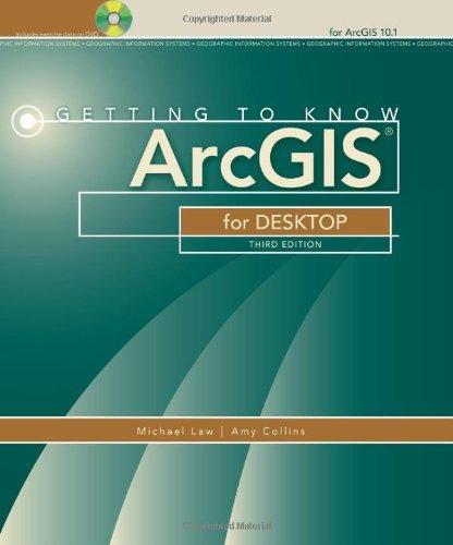 libro getting to know arcgis for desktop - nuevo