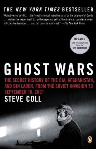 libro ghost wars: the secret history of the cia, afghanistan