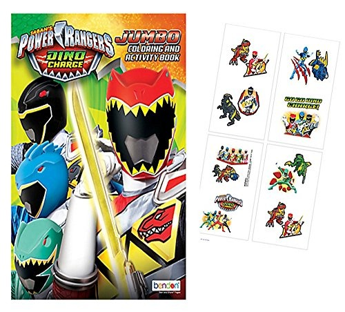 libro Gigante De Colorear Y Actividad De Power Rangers - $ 911.77 en ...