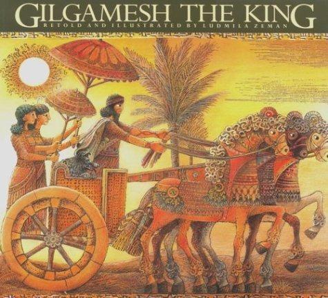 libro gilgamesh the king - nuevo