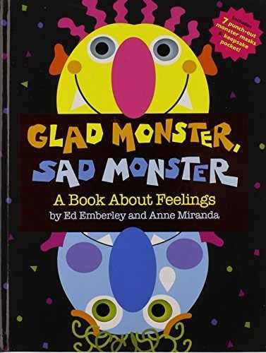 libro glad monster, sad monster: a book about feelings