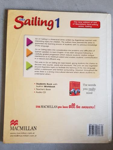 libro go on sailing 1 - editorial macmillan