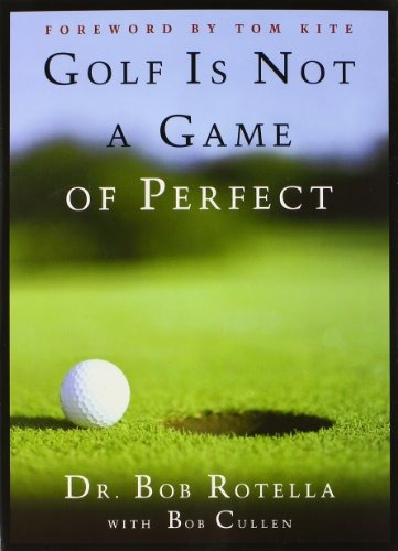 libro golf is not a game of perfect - nuevo
