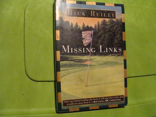libro golf , missing links , rick reilly  , 277 paginas , añ