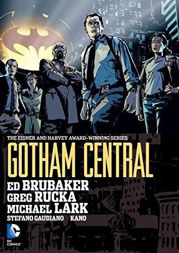 libro gotham central omnibus - nuevo