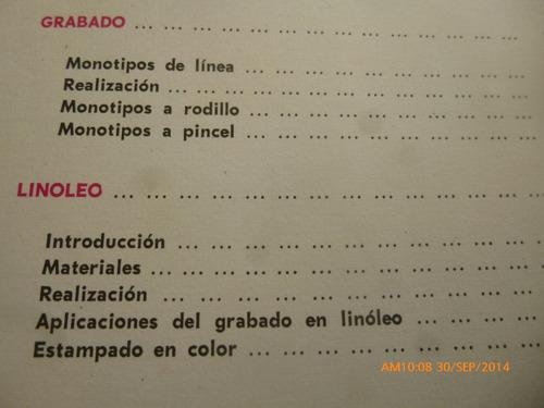 libro grabado actividades artisticas - c .valero (r733