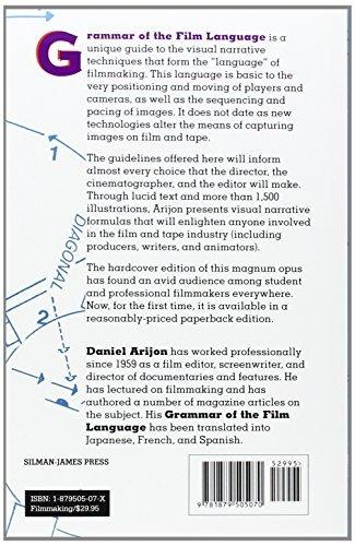 libro grammar of the film language - nuevo