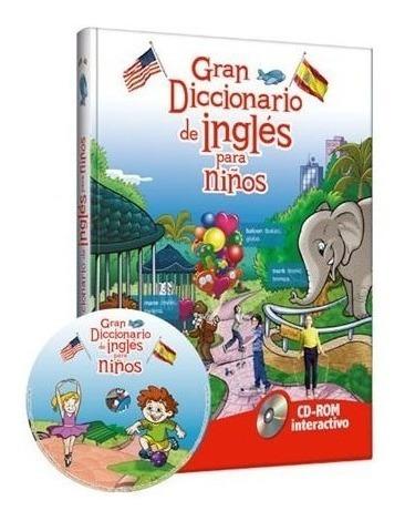 libro gran diccionario de inglés para niños - clasa