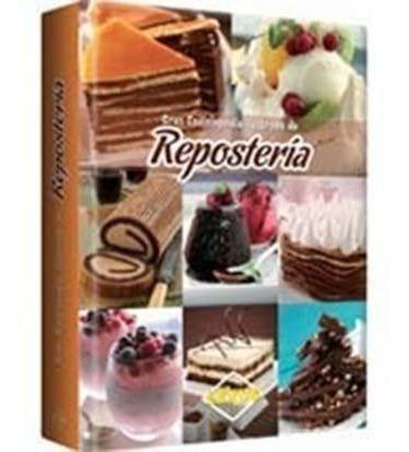 libro gran enciclopedia ilustrada de repostería lexus