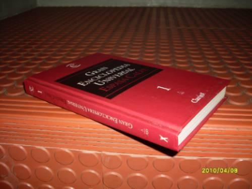 libro: gran enciclopedia  universal espasa calpe nº1 clarin