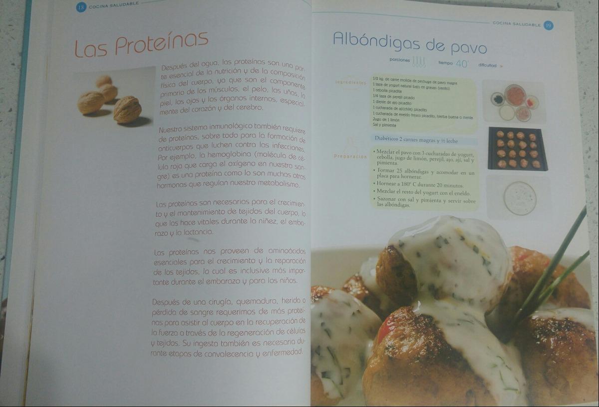 Libro Grande De Las Mejores Recetas De Cocina Saludable - Bs. 10.250 ...