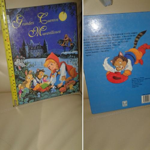 libro grandes cuentos maravillosos 6 cuentos en uno