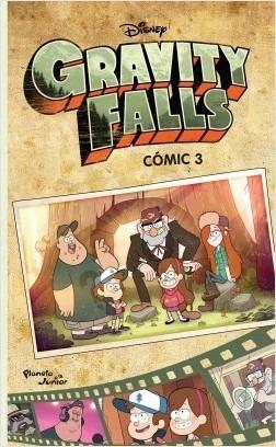 libro gravity falls comic 3 en español original  / diverti