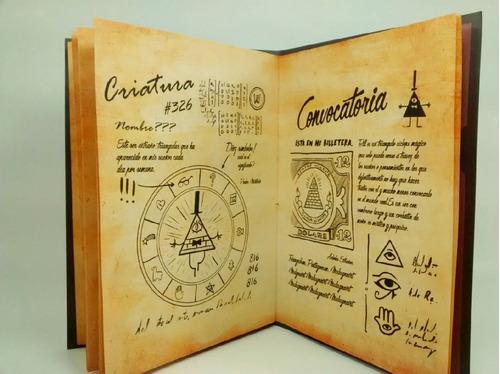 libro gravity falls diario 1, 2 y 3 en castellano