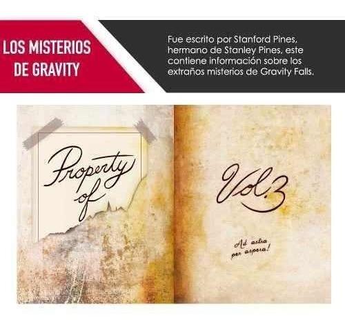 libro gravity falls diario 3 entrega inmediata proglobal