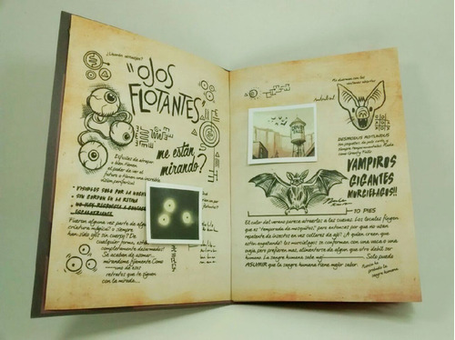 libro gravity falls diario n° 3 en castellano