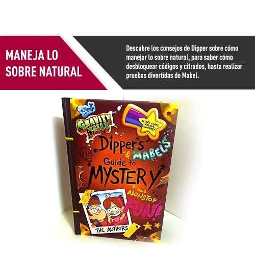 libro gravity falls dipper mabel guide to mystery proglobal