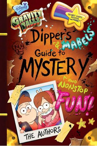 libro gravity falls dipper & mabels original  p/ dura ingles