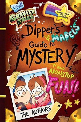 libro: gravity falls dipper y mabel guía del misterio,