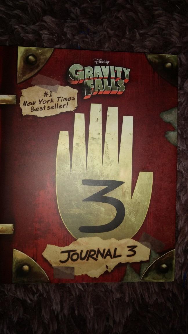 Libro Gravity Falls Journal 3 + Envío Gratis - $ 470.00 en