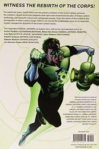 libro green lantern omnibus 1 - nuevo