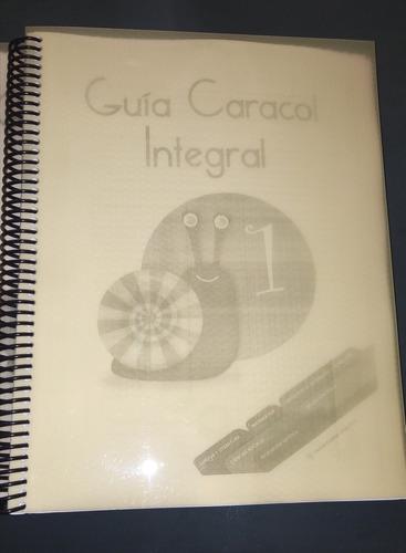 libro guia caracol integral 1 editorial santillana