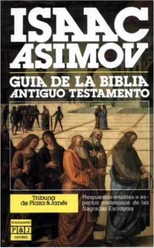 libro, guía de la biblia antiguo testamento de isaac asimov.