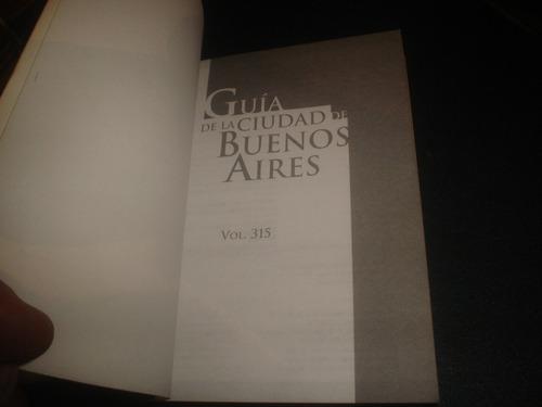 libro guia de la ciudad de buenos aires - editorial policial