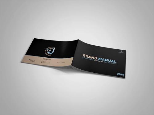 libro, guia o manual de marca