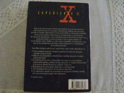 libro guía oficial de los expedientes x - brian lowry