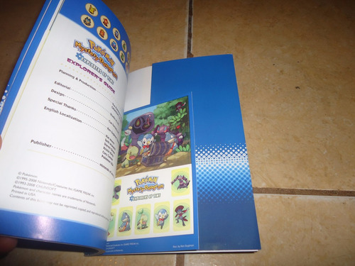 libro guia pokemon mystery dungeon explorers of time +++