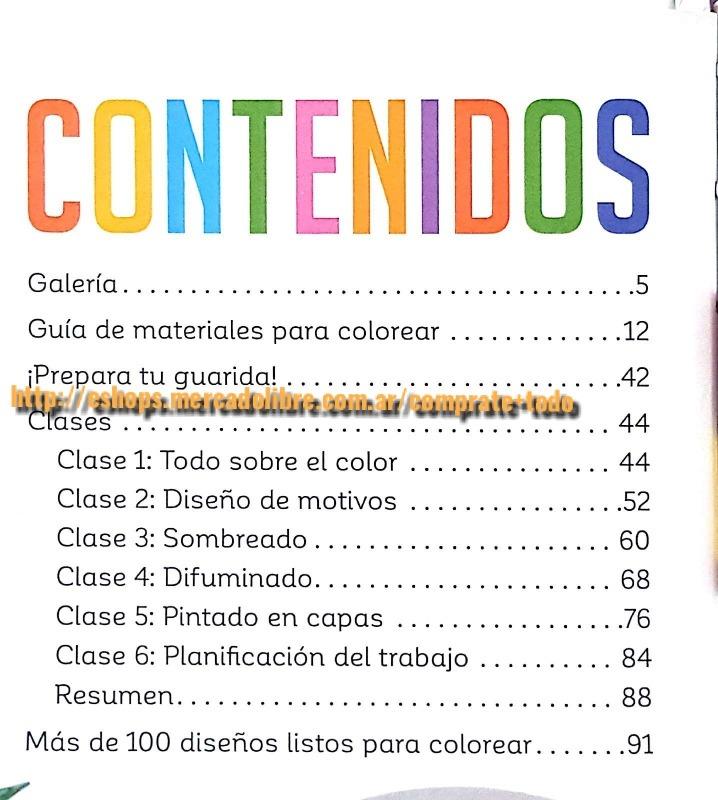 Libro Guia Práctica Para Colorear - Mandalas - Ed Planeta - $ 1.750 ...