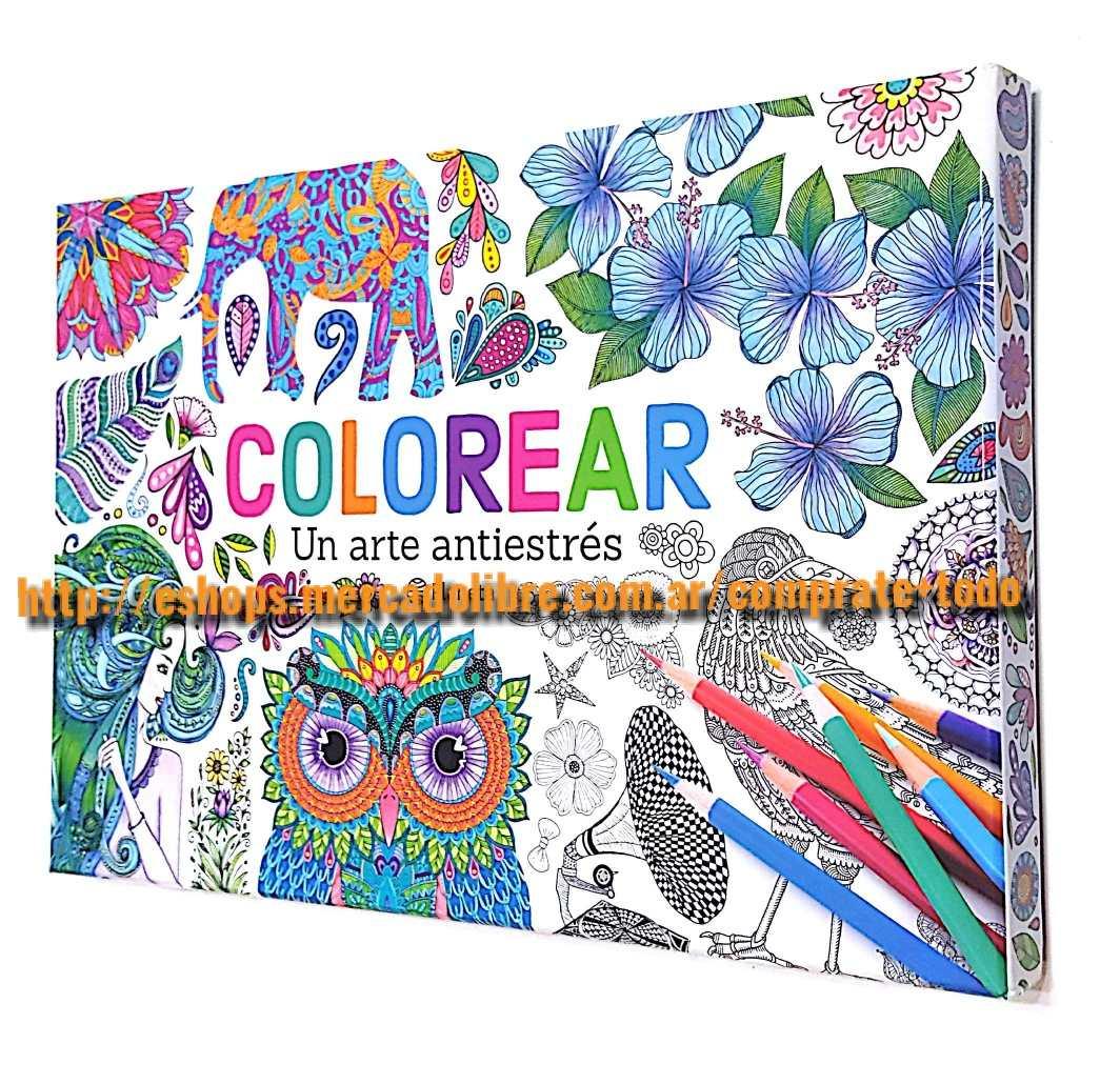 Libro Guia Práctica Para Colorear Mandalas Ed Planeta 2499