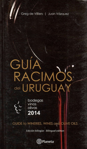 libro: guía racimos del uruguay ( de villiers - vazquez)