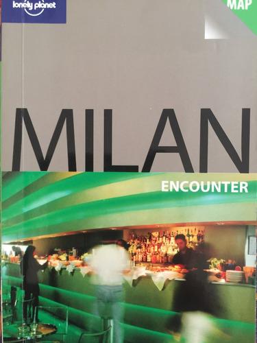 libro guía turística lonely planet milan italia en inglés
